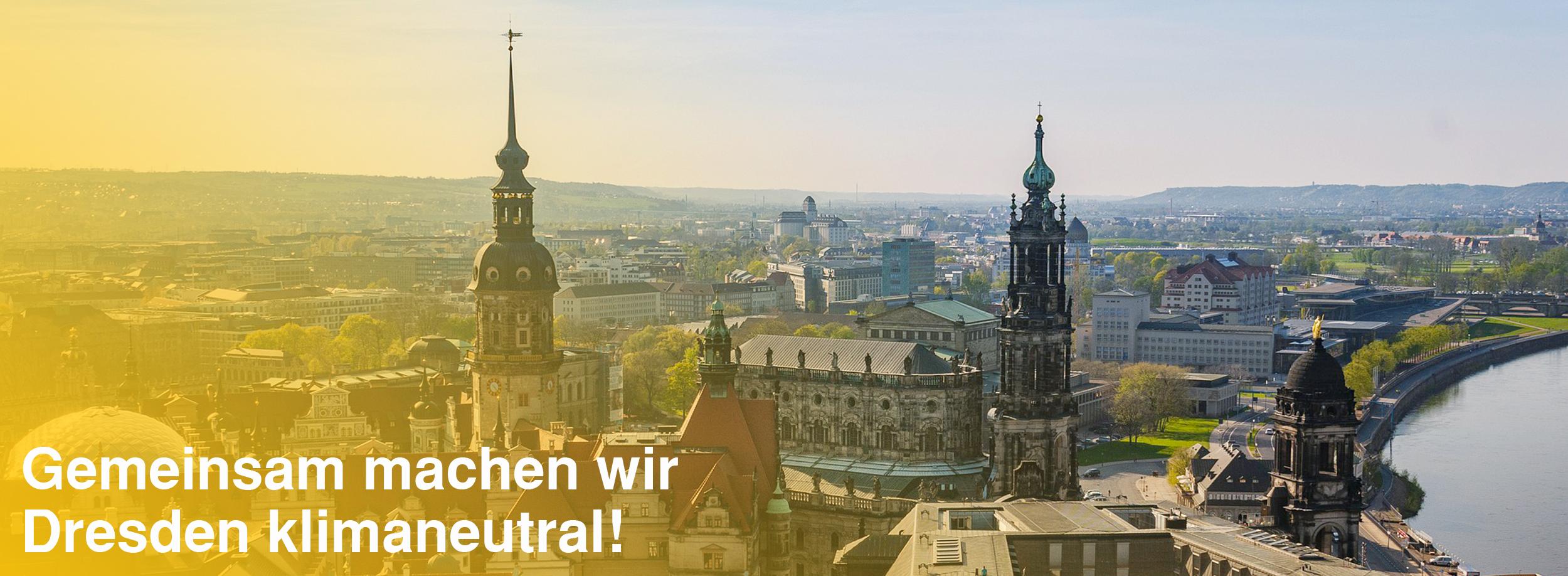DresdenZero macht Dresden klimaneutral